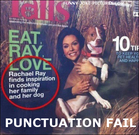 View joke - What is she cooking? Rachael Ray finds inspiration in cooking her family and her dog.