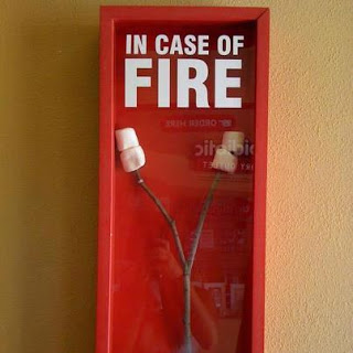 View joke - Check this one. In case of fire.