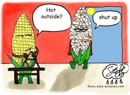 View joke - Is it hot outside ?