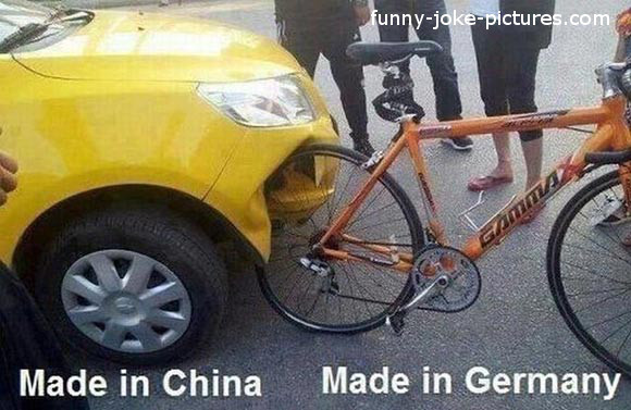 View joke - Made in China. Made in Germany.